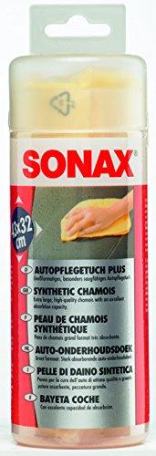 SONAX 417700 Autopflegetuch PLUS - Autoleder Test