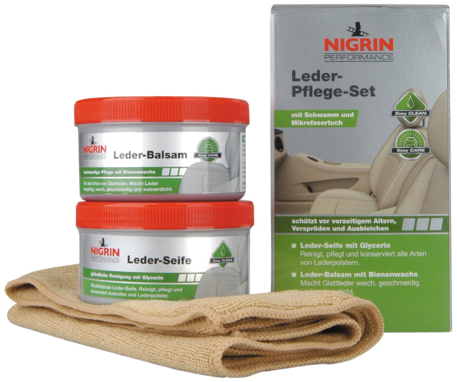 Nigrin 73170 Performance Leder-Pflege-Set Test